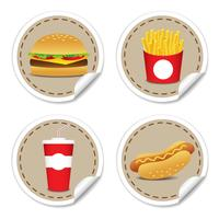 Set fast food 9