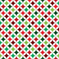 Vector seamless pattern illustration on a Christmas Holiday theme