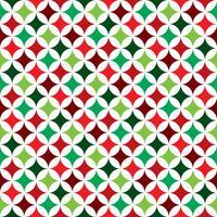 Vector ilustración de patrones sin fisuras en un tema de vacaciones de Navidad