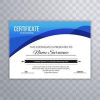 Abstract Certificate Premium assegna il modello di progettazione del diploma