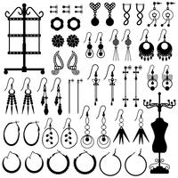 Earring Jewelry Accessories .