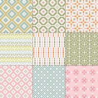seamless native american patterns