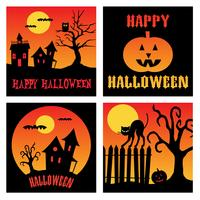halloween square graphics
