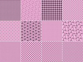 Pink Bandana Patterns