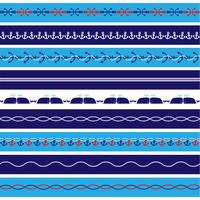 Nautical Borders Patterns