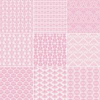 pink Damask Patterns