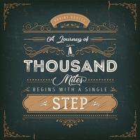 Een reis van een duizend mijl motivatie citaat
