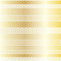 metallic gold fretwork border patterns
