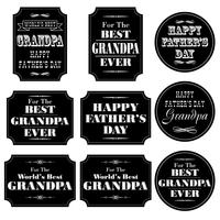 black white old fashioned placard