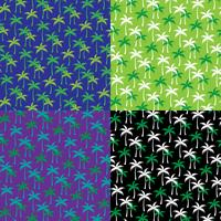 palm tree background patterns