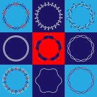 Nautical Circle Frames
