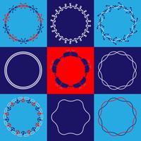 Nautische cirkelkaders