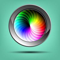 Botão de cor