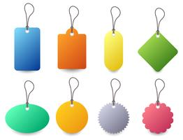 Tag Label Badge Set Vector.
