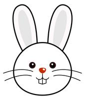 Cute Rabbit Vector.
