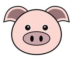 Netter Schwein-Vektor.