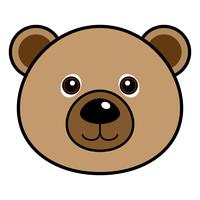 Cute Bear Vector.