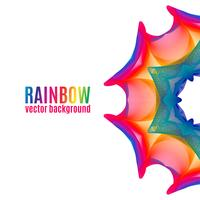 Rainbow Star background.