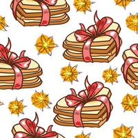 Seamless pattern cookies