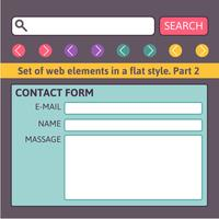 Simple contact us form templates.