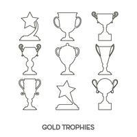 Winner award cup.
