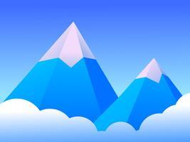 Incredibile montagna di ghiaccio