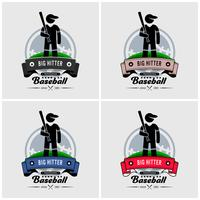 Baseball club logo design.