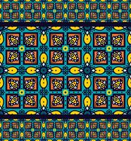 Talavera oblana mexikanskt sömlöst mönster