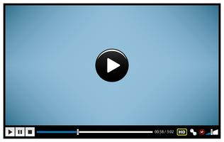 Video Movie Media Player.  vector