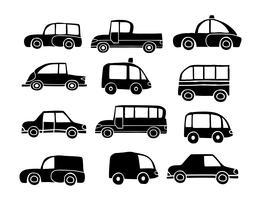 Set of toy car