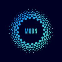 affisch Luna. Raster