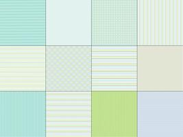 Blue Green Stripe & Plaid Patterns