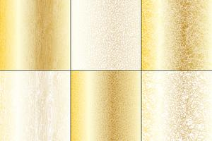 Metallic Gold and White Natural Textures