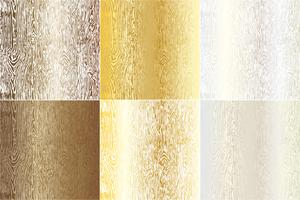Metallic Woodgrain Textures vector