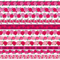 rose border patterns
