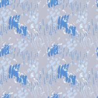 Serenity pattern on striped background