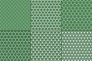 Celtic Knot Patterns on white background