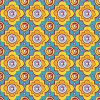 Naadloze byzantijnse stijlachtergrond