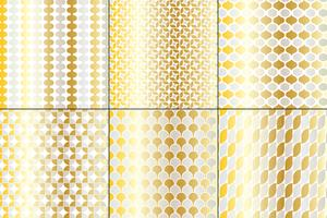 Silver & Gold Big Mod Patterns