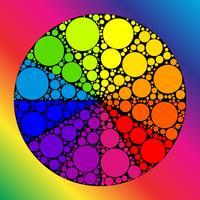 Color wheel or color circle  vector