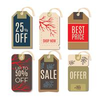 Tags with the sale of Christmas.