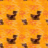 Safari pattern on striped background