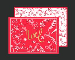 Cartão Postal Noel.