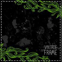 Vintage Rahmen Mono-Linie