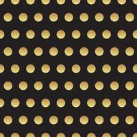 Universal black and gold seamless pattern, tiling.  vector