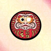 Daruma Japanse traditionele pop