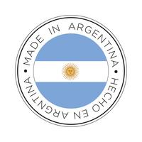 Made in Argentina flag icon.