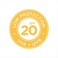 Protection UV, protection solaire, faible SPF 20