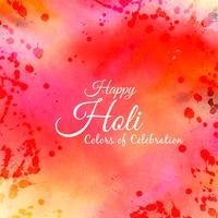 Abstrait Happy Holi
