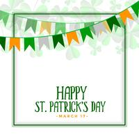 happy St. Patrick's day celebration background